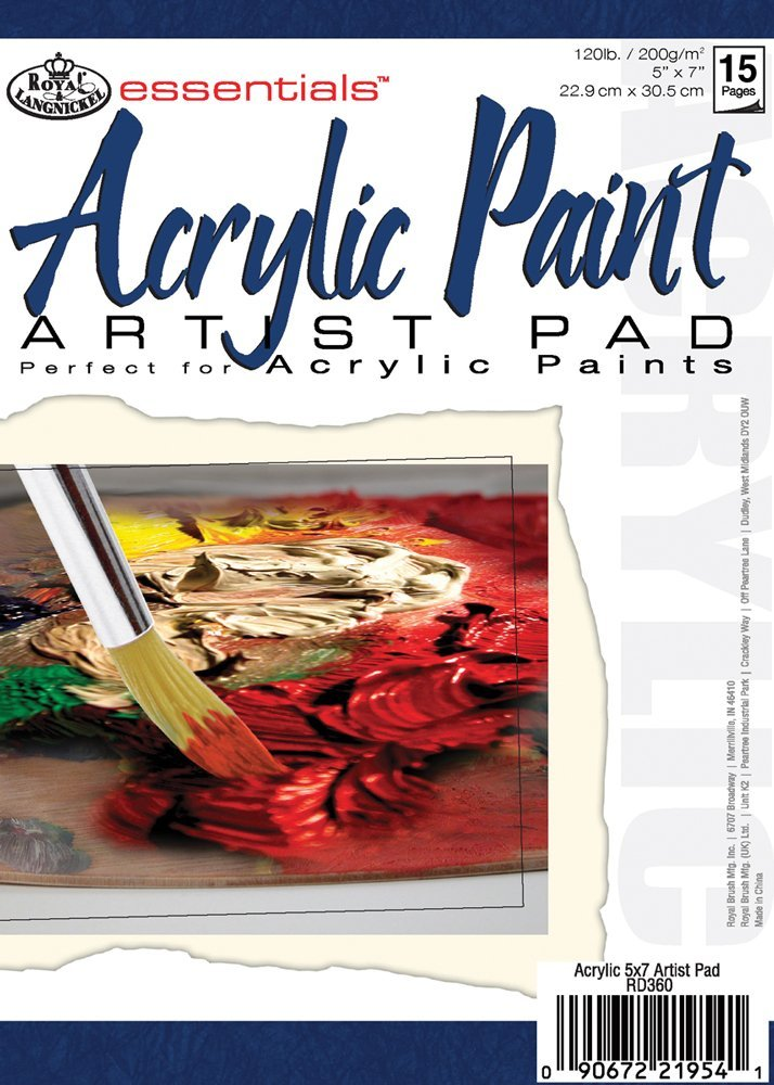 best paper for acrylic paint