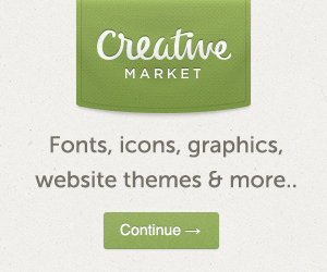 Our Sponsor Creative Market