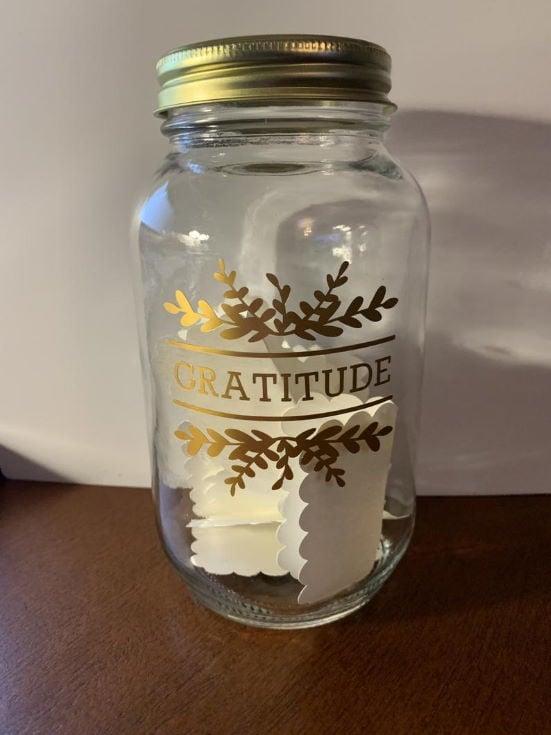 Quart Gratitude Jar
