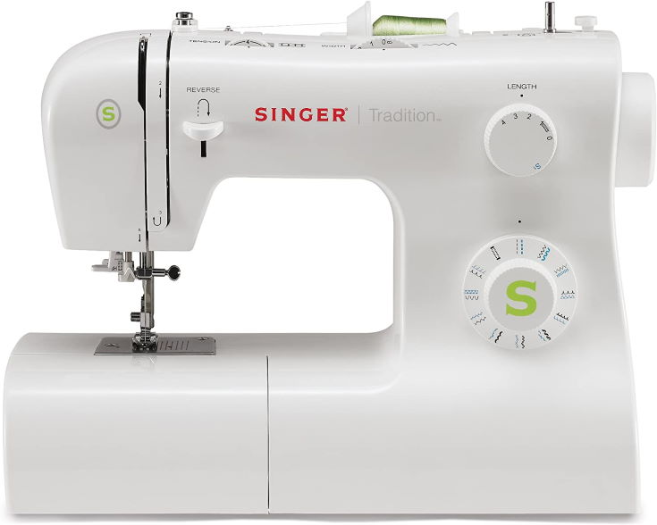SINGER   Tradition 2277 Sewing Machine with 97 Stitch Applications, & Easy-To-Use-Free-Arm - Perfect for Beginners - Sewing Made Easy