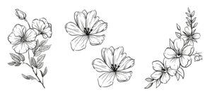 Cover Image: 11 Gorgeous Woodburning Flower Patterns