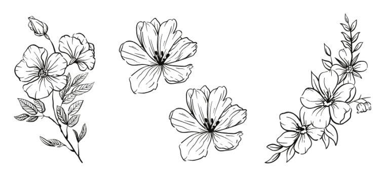 11 Gorgeous Woodburning Flower Patterns