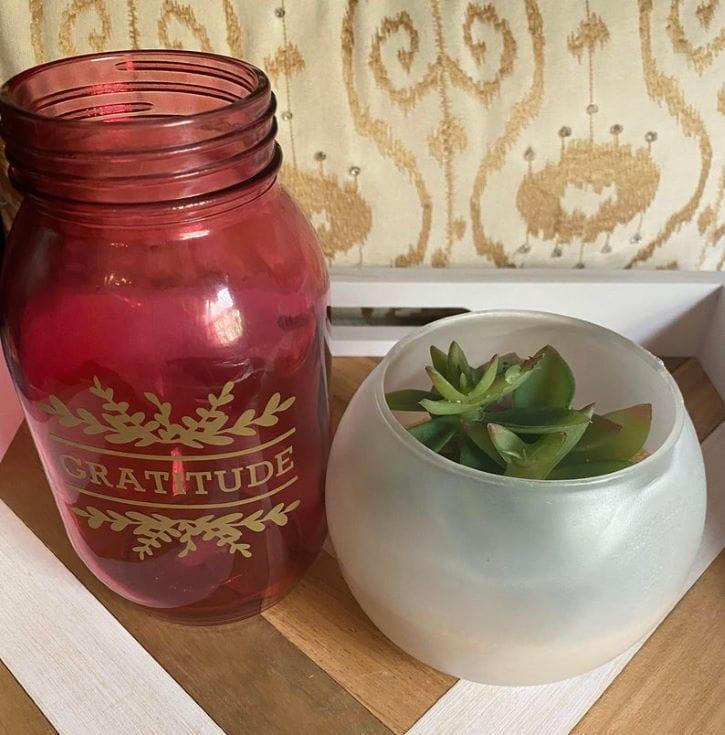 Red Jar for Gratitude