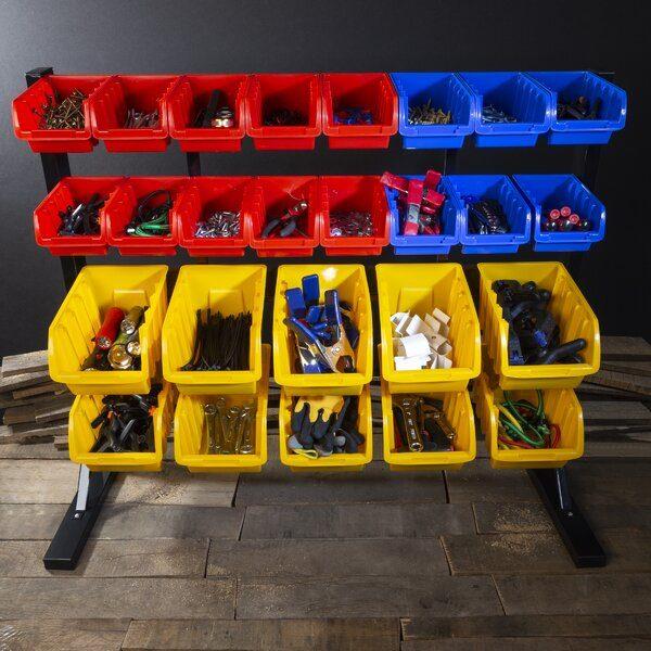 Storage Rack Organizer Plastic Craft Case
