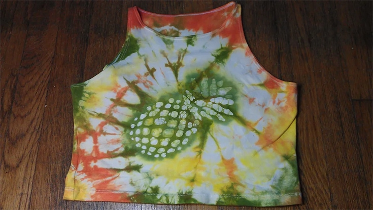Pineapple Batik Tie Dye shirt