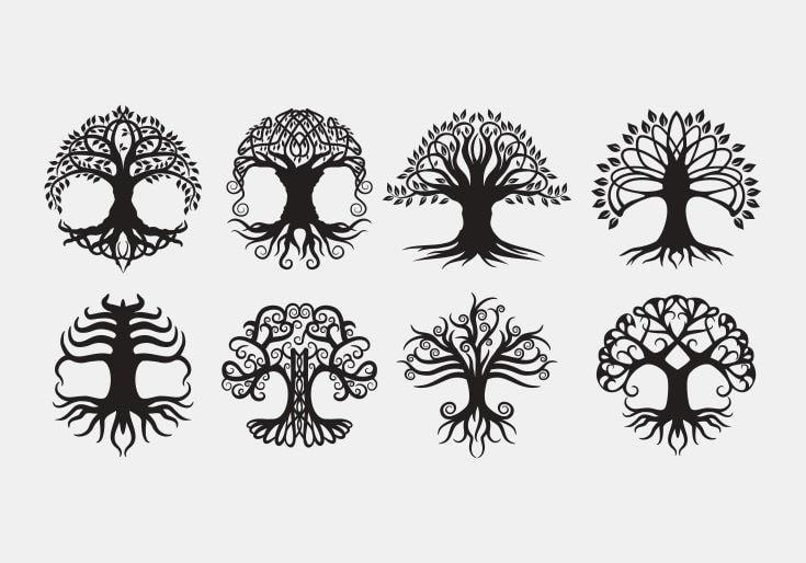 Celtic Tree Vectors