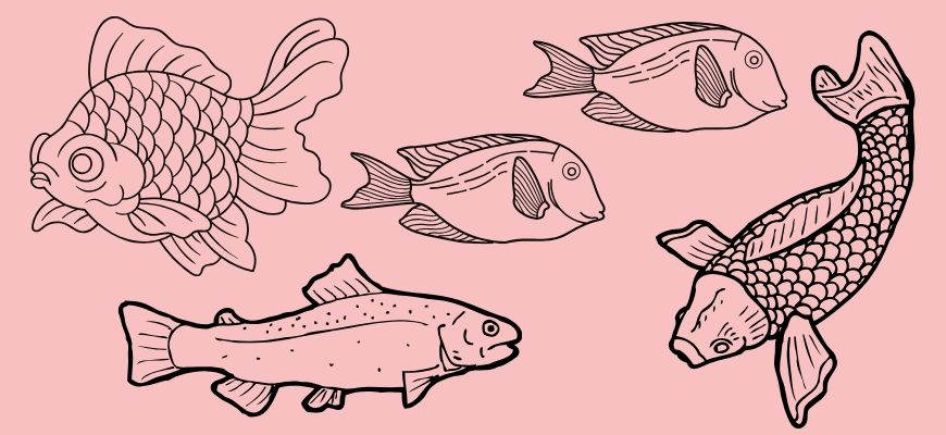 Printable Wood Burning Fish Patterns For Your Next Project