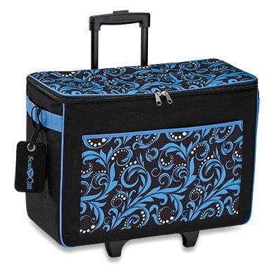 Scan N Cut Rolling Tote Bag - BLUE
