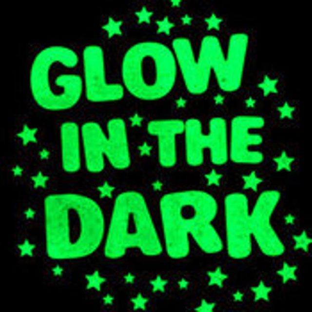 Glow in the Dark Transfers