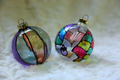 Stain Glass Ornament