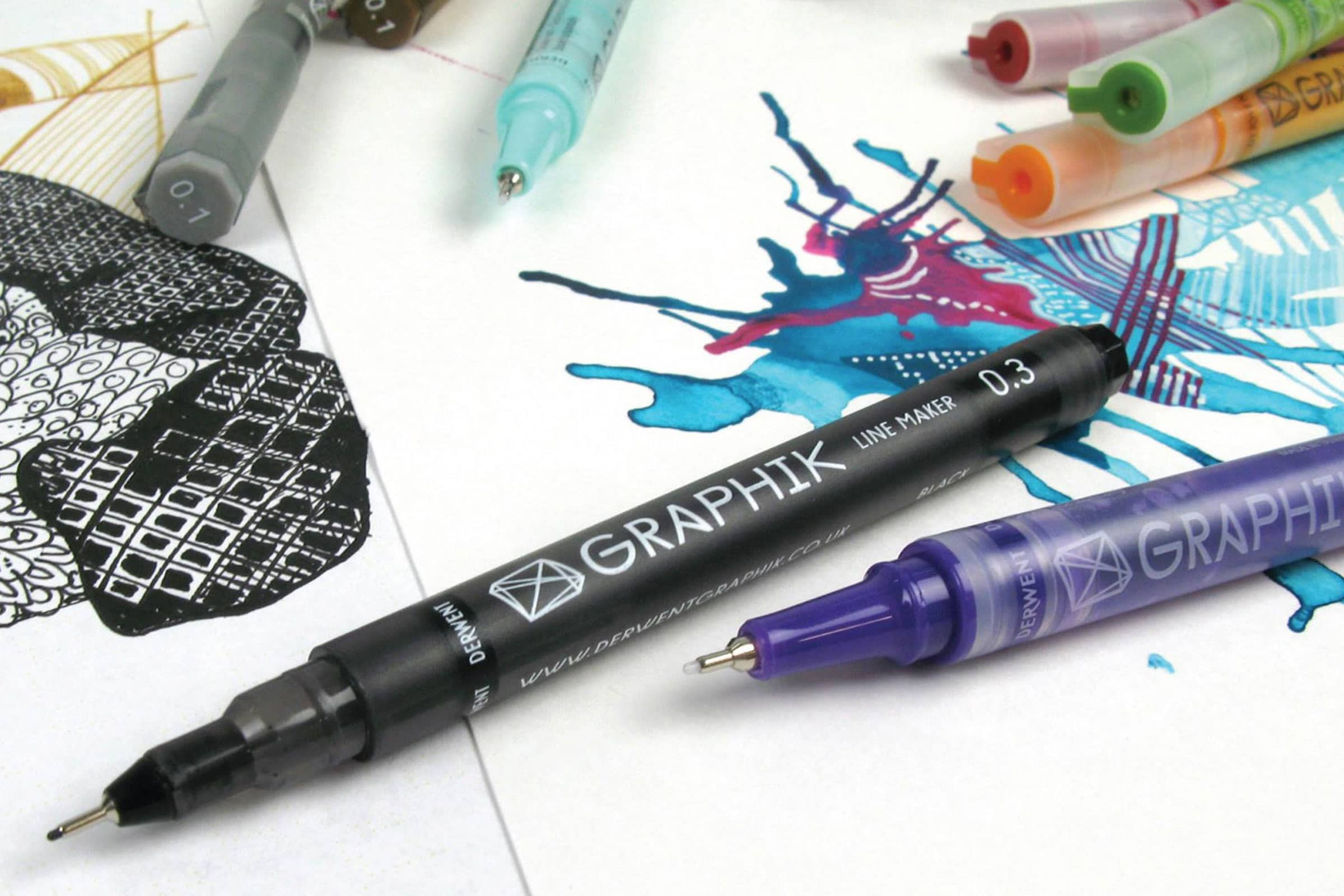 the 5 best pens for doodling art in 2018 review by mostcraft