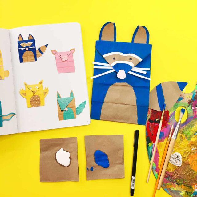 Paper Bag Animals