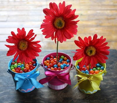Edible Easter Centerpiece and Party Favor