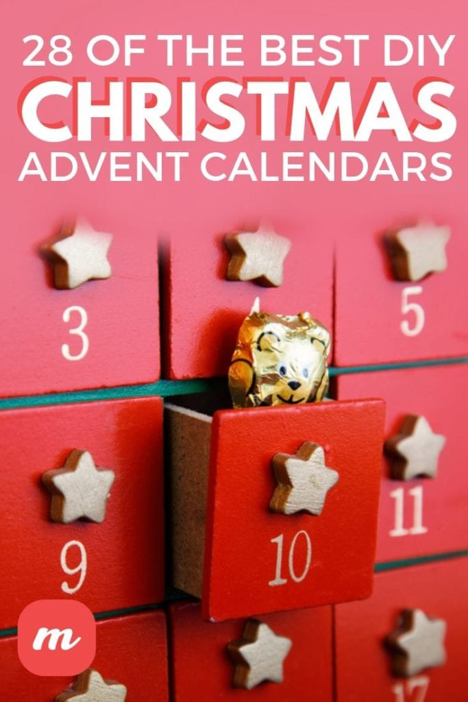 28 Of The Best DIY Christmas Advent Calendars