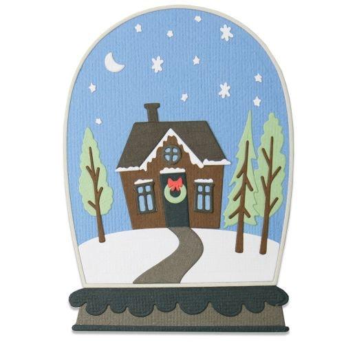 Sizzix Thinlits Die Set 17PK - Bell Jar Diorama