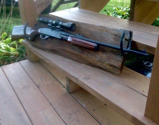 Rustic Gun Rack