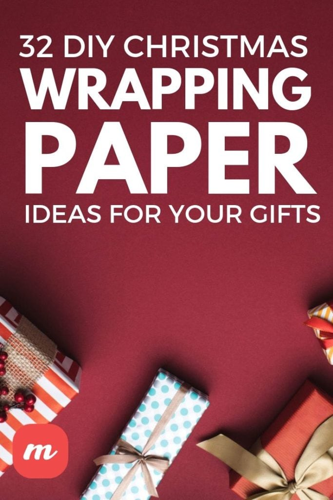 32 DIY Christmas Wrapping Paper Ideas For Your Gifts