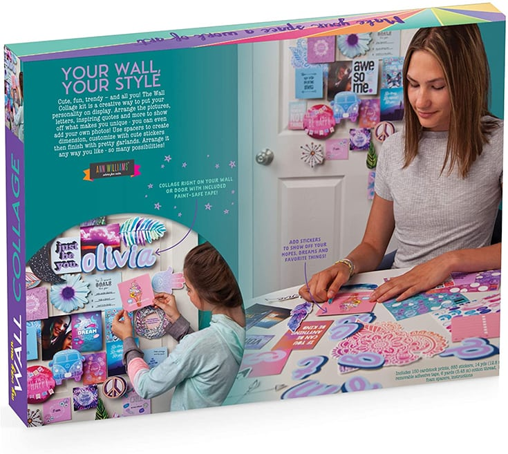 Craft-tastic - DIY Wall Collage - Craft Kit - Personalize Your Space with Inspiring Quotes, Pre-Cut Designs & Pictures (Includes Wall-Safe Tape)