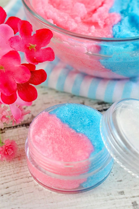 Cotton Candy Sugar Lip Scrub