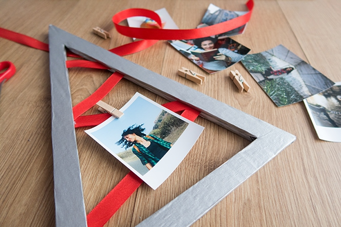 Christmas Photo Display
