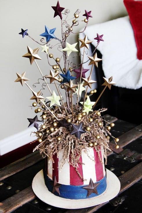 Patriotic Uncle Sam Centerpiece