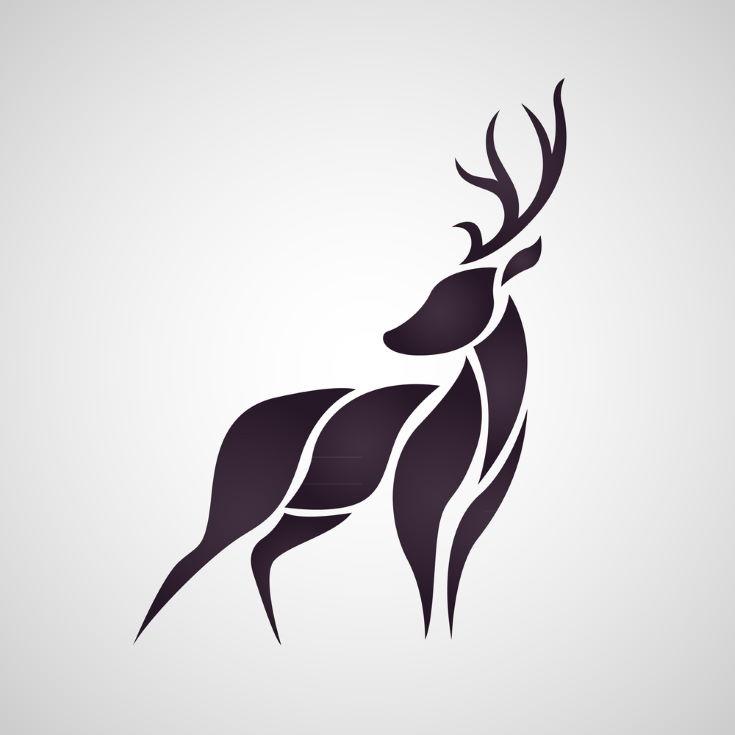 Dear logo vector