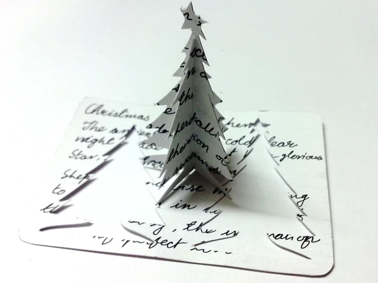 Christmas Cards with a Tree Twist