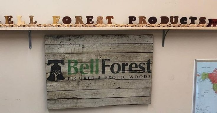 bellforest logo on the store