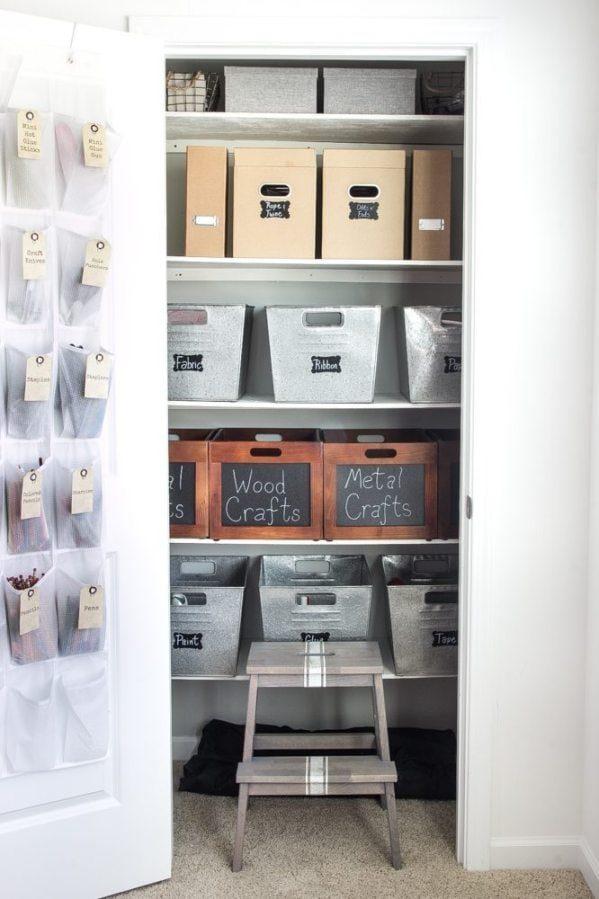 Closet Organizing Plans