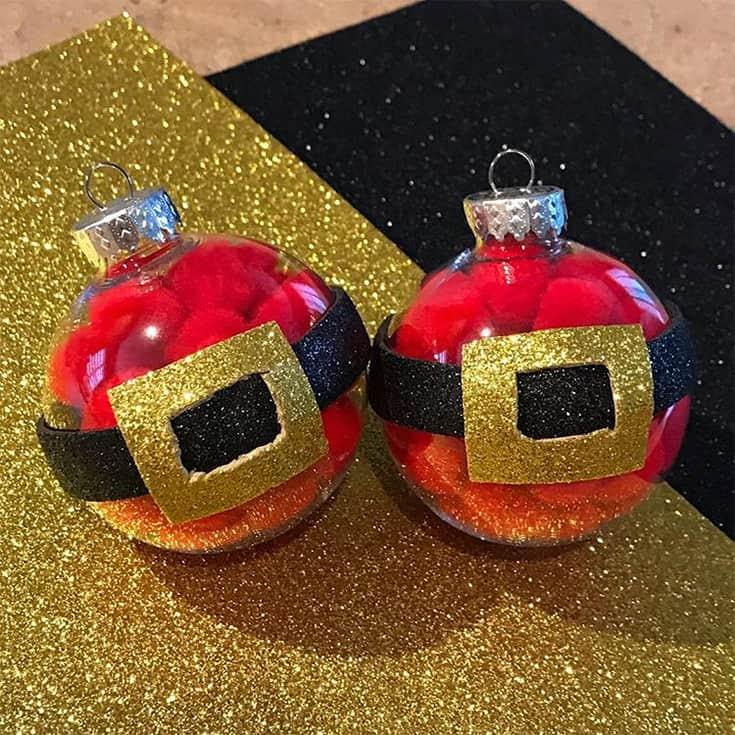 Santa Claus Christmas Balls