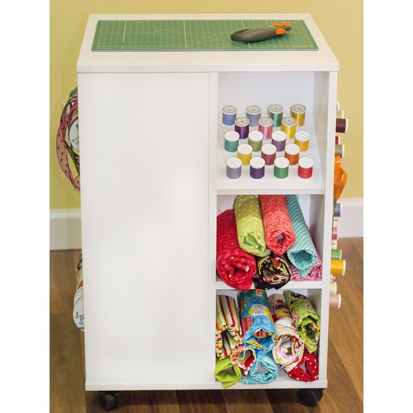 Arrow 4 Sided Thread Ribbon and Storage Cube Craft Table