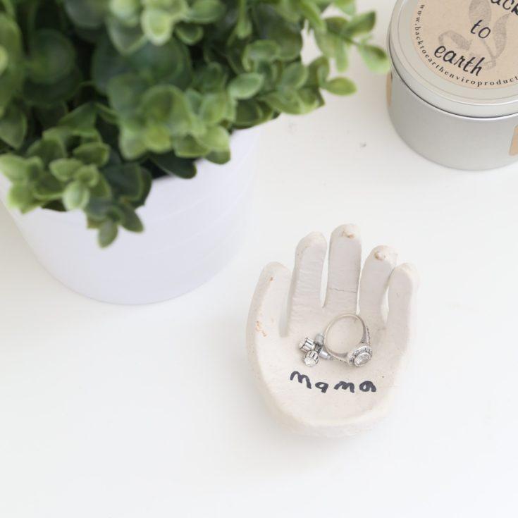 A Hand Shaped Ring Dish