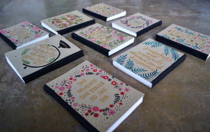 A Handy Homemade Notebook