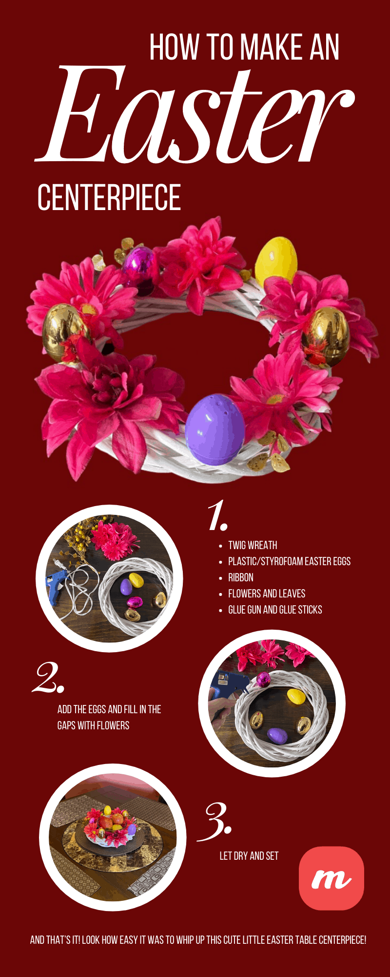 7 Awesome Easter Chick Craft Place Holders You Can Make at Home - Infographic