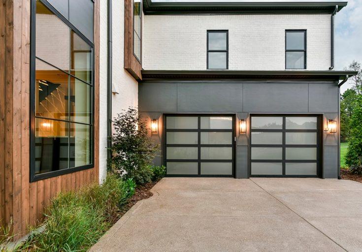 Aluminum & Glass Garage Doors