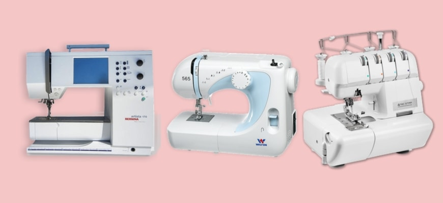 All The Different Types Of Sewing Machines Explained