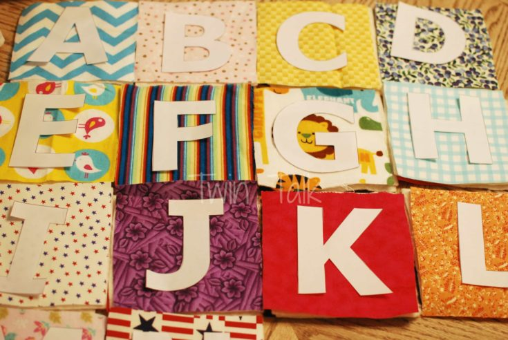 Simple Sew Fabric Letters