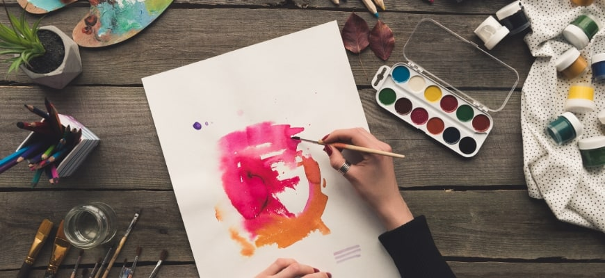Cover Image: Amazing Watercolor Techniques You Have to Try