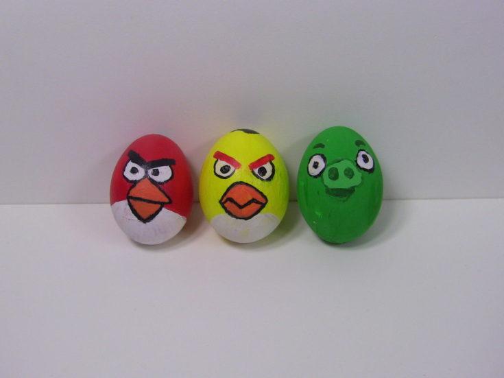 Angry Bird Easter Eggs - 3 eggs