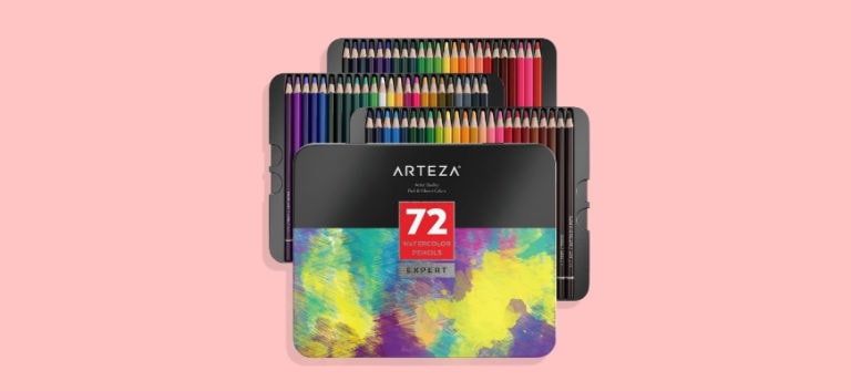 Arteza Watercolor Pencils Review