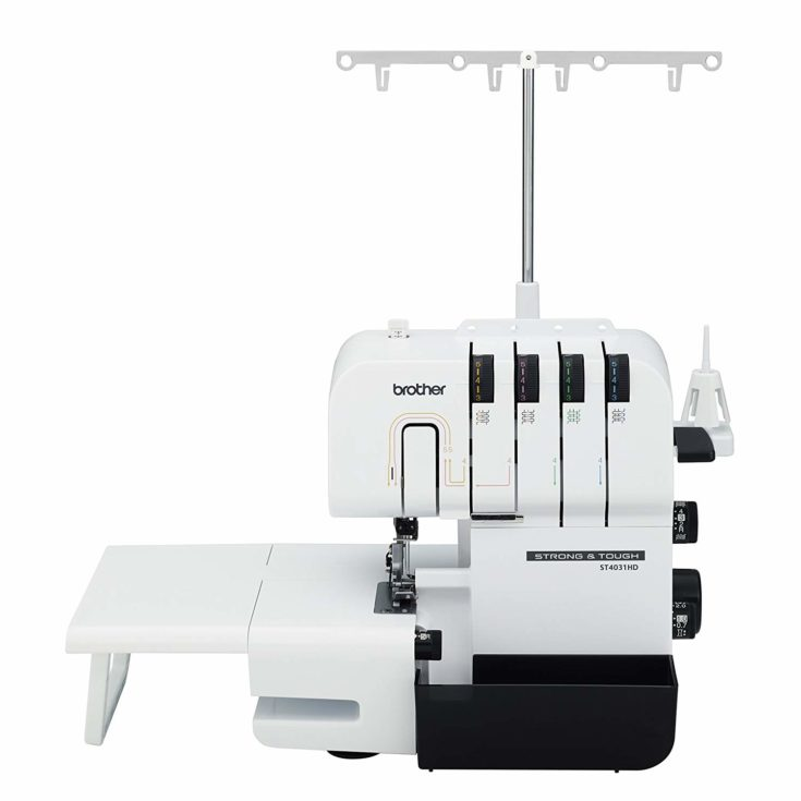 BROTHER Serger, ST4031HD, Strong and Tough Serger isolated in white background