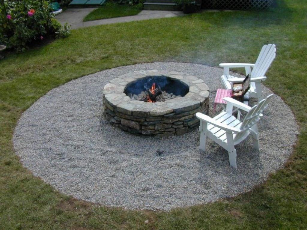 Round Backyard Fire Pit