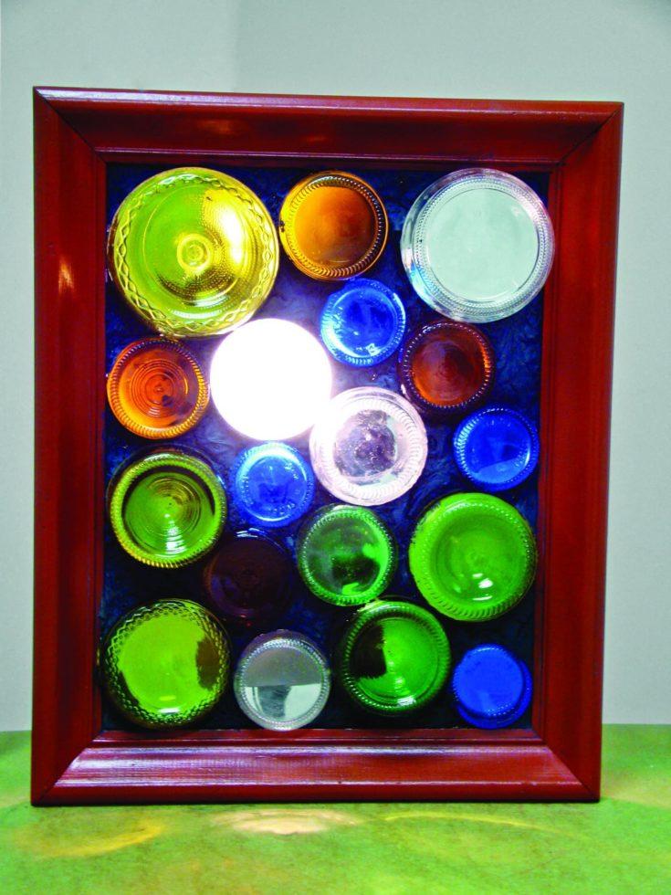 Bottle Bottom Collage