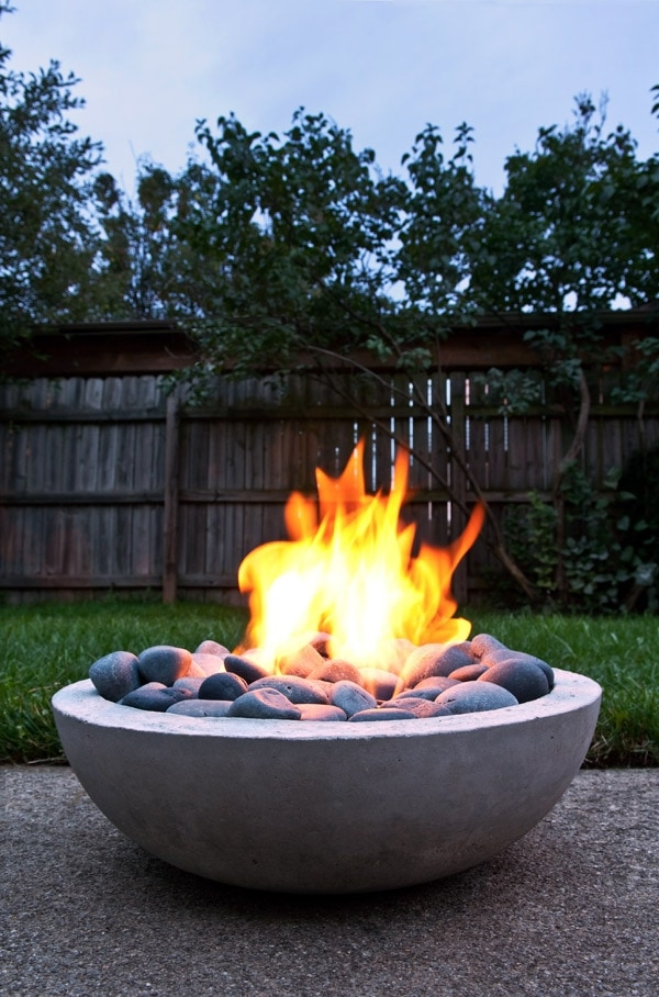 Bowl of Rocks Fire Pit