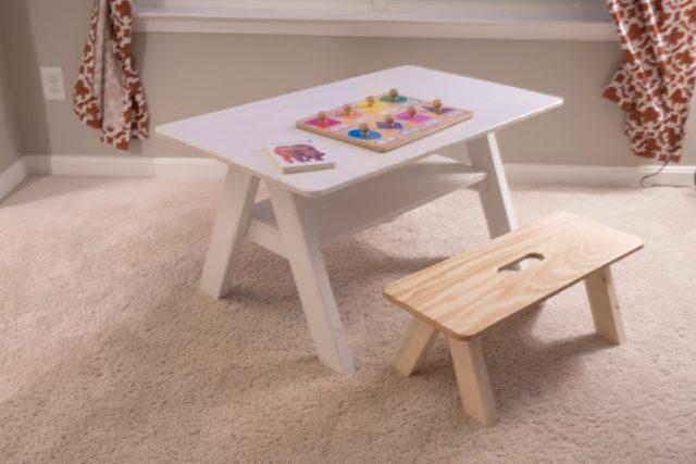 Children's Craft Table