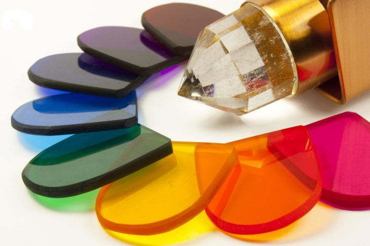 Stained glass windows for color therapy
