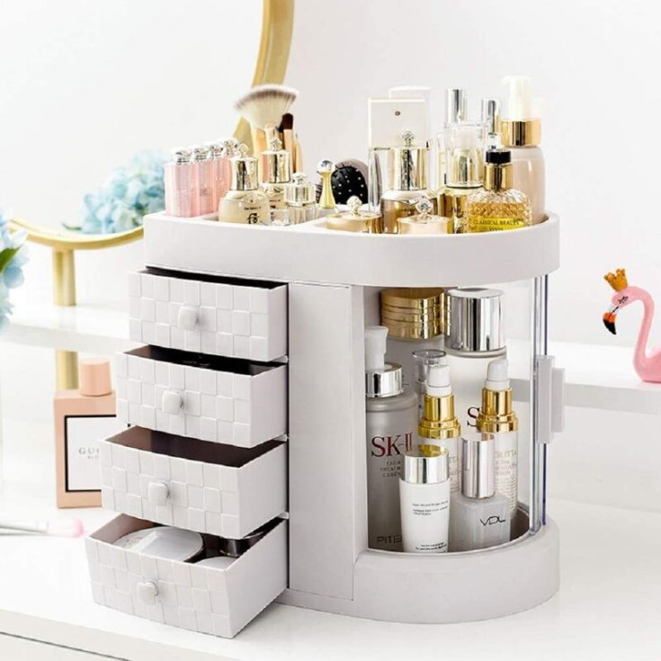 Dome Organizer for make up