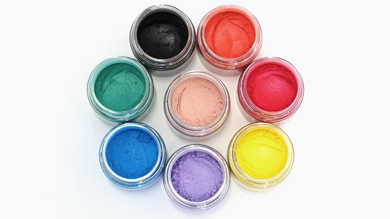 Cosmetic Grade Mineral MICA Colorants
