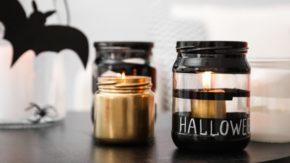 Halloween Painted Jar Luminaries – Fun Frightening Crafts