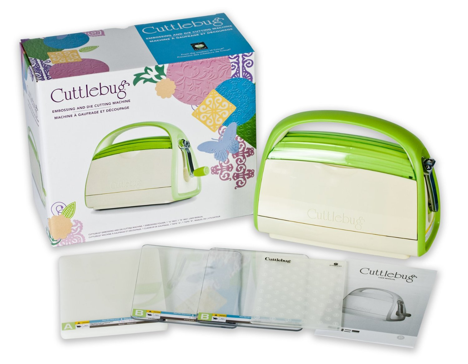 what is a cricut cuttlebug machine